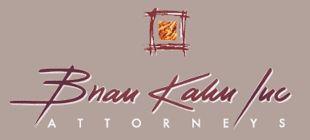 Brian Kahn Incorporated Attorneys