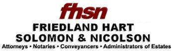 Friedland Hart Solomon & Nicolson