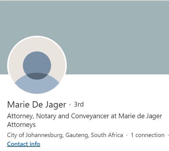 Marie de Jager Attorneys
