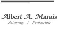 Albert A. Marais Attorneys
