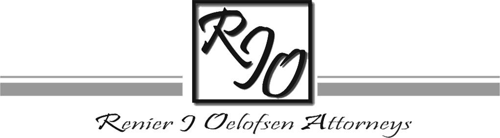 Renier J Oelofsen Attorneys
