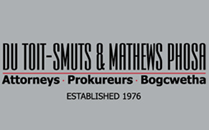 Du Toit - Smuts & Mathews Phosa Attorneys